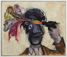 Ken Kiff - The Poet (Mayakovsky), Sequence Arte Peculiar, Arte Obscura, Funky Art, Weird Art, Psychedelic Art, Surreal Art, Pretty Art, Art Sketchbook, Aesthetic Art