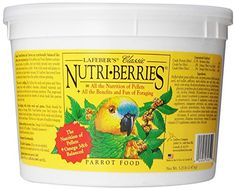 Lafeber Company Nutri-Berries Parrot Pet Food, 3.25-Pound - http://www.bunnybits.org/lafeber-company-nutri-berries-parrot-pet-food-3-25-pound/