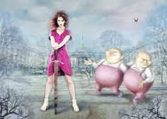 Celebrate 150 years of Alice in Wonderland with Alice's Pig.