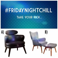 Would You Rather, Accent Chairs, Friday, Cozy, Night, Furniture, Beautiful, Home Decor, Style