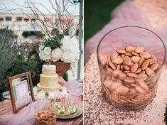 Rose gold wedding inspiration - Love4Weddings