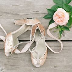 Ballet shoes for modern bride! Anniel shoes