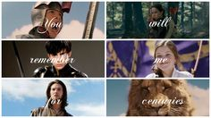 You will remember me for centuries! (edited by Narnia_HU)