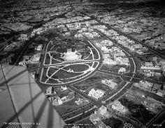 1947. Parque México -- Colonia Hipódromo Condesa