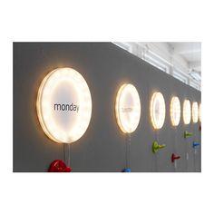 LJUSNING Rahmen mit Beleuchtung, LED  - IKEA