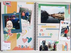 09 - March - Afternoon in park (using Let Your Heart Decide collection from PinkFresh Studio)