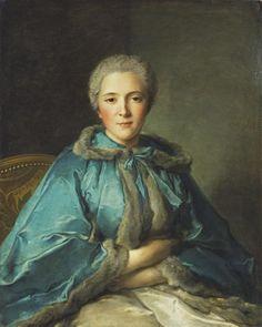 Portrait of the comtese de Tillières, 1750  Nattier Jean-Marc (1685-1766) Jean-Marc Nattier