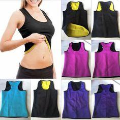 c256f305b5e Women Sweat Sauna Body Shaper Slimming Vest Thermo Neoprene Waist Trainer 1  pc Fashion New Shapewear