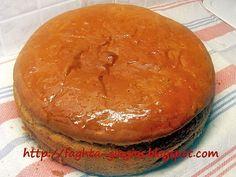Άρτος για αρτοκλασία (αρτοπλασία) - από «Τα φαγητά της γιαγιάς» Dessert Recipes, Desserts, How To Make Bread, Apple Cider, Love Food, Breakfast, Tin, Loaf Bread Recipe, Recipes