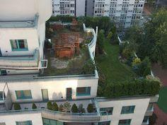 Warsaw roof garden