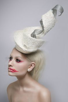 9329a76a Couture Fascinators by Carrie Jenkinson Millinery. #passion4hats Millinery  Hats, Hair Decorations, Wearing