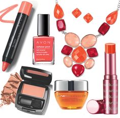 Coral beauty & fashion!