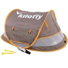 kilofly Baby Toddler Medium Instant Pop Up UPF 35 Travel Beach Tent  2 Pegs