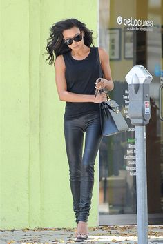Naya Rivera looks incredible walking around Beverly Hills.