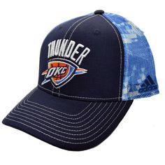 Oklahoma City Thunder OKC NBA Adidas Snapback Cap