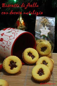 fusillialtegamino: Biscotti di frolla delle sorelle Simili con decoro natalizio