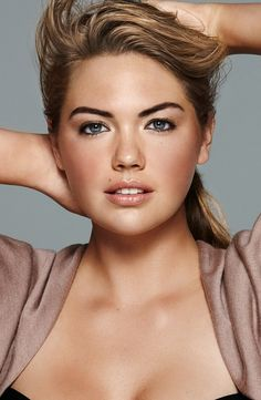 kate upton bobbi brown ad campaign photo2 Here Are Kate Uptons First Bobbi Brown Makeup Ads