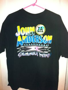 Vintage Country John Anderson Shirt by BCallyVintage on Etsy, $20.00