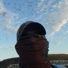 """There are so many caddisflies on the Missouri River in July. Without my Buff I would have spent my whole evening brushing bugs off my face and holding my breath instead of fishing. Bug Off, Missouri River, Brushing, Photo Contest, Fly Fishing, Montana, Riding Helmets, Bugs, Face"