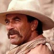 My favorite cowboy! Tom Selleck, Magnum Pi, Blue Bloods, Old West, My Guy, Panama Hat, Cowboy Hats, Gentleman, Toms