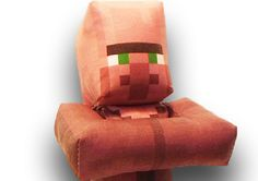 Minecraft Villager plush toy. Get yours at http://www.craftingnerdy.com