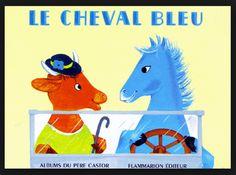304. LE CHEVAL BLEU N. Hale-L. Butel 1963