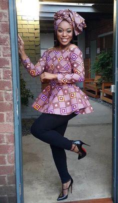 @MsKyraS #AF #AfricanFashion