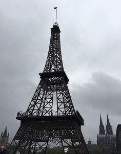Mini-Eiffelturm in Köln
