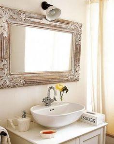 pode querer um espelho desses no banheiro?