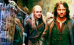 Leggy and Aragorn