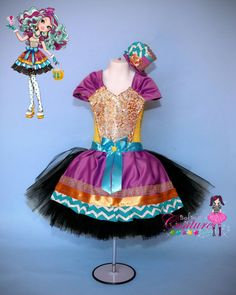 Madeline Hatter inspired dress and costume by SofiasCoutureDesigns