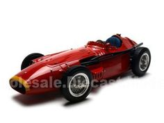 1957 Maserati 250 F Diecast Car 1/18 Red Die Cast Car Model By Cmc