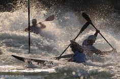 Canoe Slalom  European Championship.  Tacen, Slovenia.