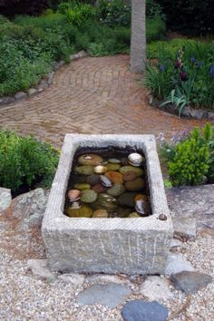 Trough Fountain
