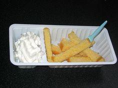 Cake and cream! Great!