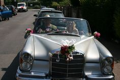 Chauffeur driven to the perfect wedding, that's what every bride wants!