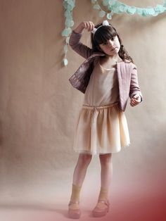 Cortege Enfant summer 2013 girls can wear the padded style too over a sweet tutu.