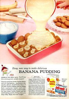 Farm Girl Pink....: ~ Vintage Pink Pyrex and banana pudding...
