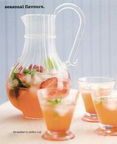 Strawberry Vodka #drinks #cocktails