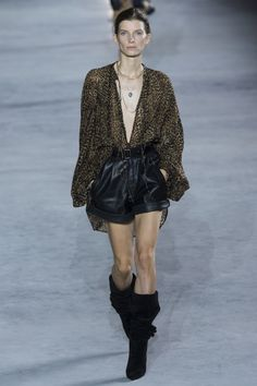 Saint Laurent Spring 2018 Ready-to-Wear Collection Photos - Vogue