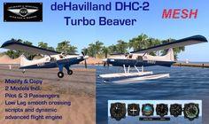 Second Life Marketplace - deHavilland DHC-2 Turbo Beaver