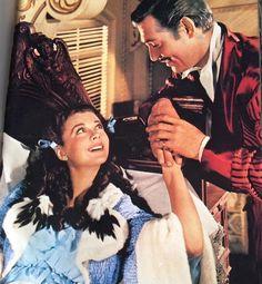 "mis actrices preferidas — Vivien Leigh-Clark Gable ""Lo que el viento se... Rhett Butler, Scarlett O'hara, Vivien Leigh, Clark Gable, Kirk Douglas, Old Movies, Great Movies, Classic Hollywood, Old Hollywood"