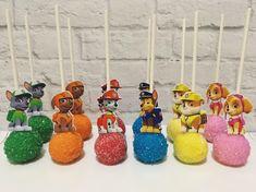 Paw Patrol Cake Pops in 2020 Bolo Do Paw Patrol, Paw Patrol Cupcakes, Cumple Paw Patrol, Paw Patrol Cake Pop, Paw Patrol Birthday Theme, Paw Patrol Party, Paw Patrol Birthday Decorations, 4th Birthday Parties, Birthday Fun