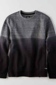 American Eagle Outfitters AE Active Dip Dye Crew Sweatshirt