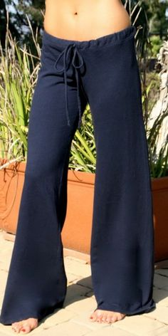 TYSA Drawstring Pants in French Terry p e r f e c t !