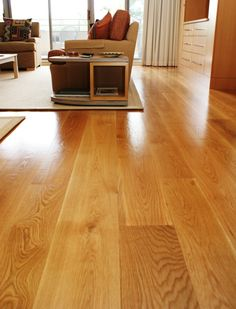 Wide Plank White Oak Flooring In The Select Grade Featuring 7 8 And