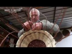Come fare cesti di canna e vimini -PARTE 2/2- - YouTube