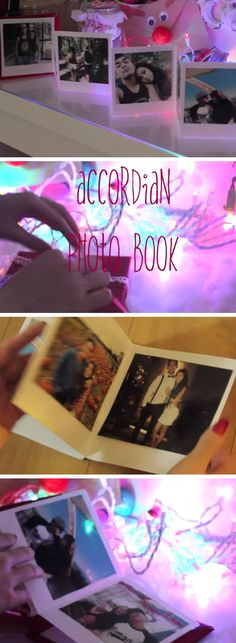 Accordion Photo Book | DIY Christmas Gifts for Boyfriends Ideas | Easy Christmas Gifts for Him on a Budget