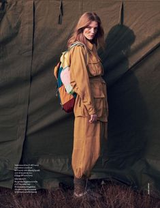 Glamping Now: editorial with Roos Abels (Model), Laurie Bartley (Photographer), Carola Bianchi (Wardrobe Stylist) for Elle Italia May Classy Edgy Fashion, Grunge Fashion, Jewelry Editorial, Editorial Fashion, Editorial Photography, Fashion Photography, Go Glamping, Camping Photography, Camping Style