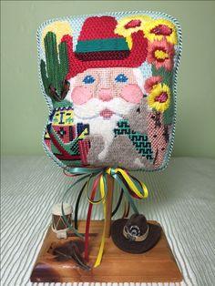 Shelly Tribbey's Southwest Santa with a few tweaks. 2000